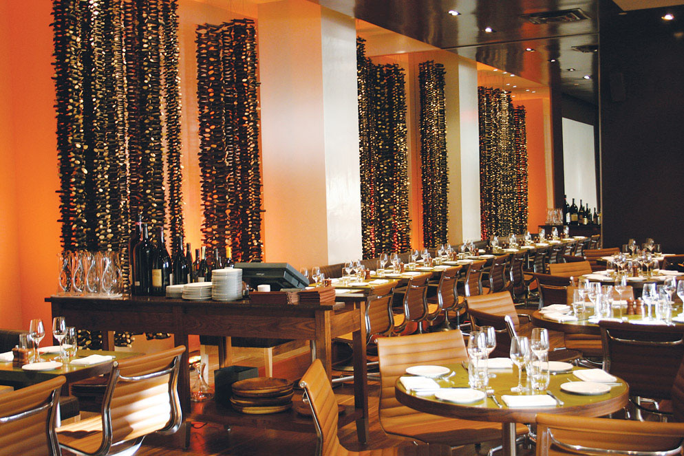 The most romantic restaurant in new york city randolph for Best romantic restaurants nyc