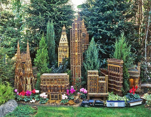 Merveilleux Holiday Train Show At The New York Botanical Garden