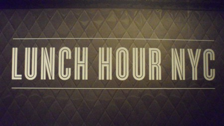 NYPL - Lunch Hour Sign