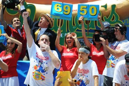 Nathan's Hot Dog Eating Contest 2013